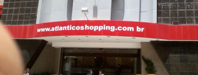 Atlântico Shopping is one of Locais curtidos por Crista.
