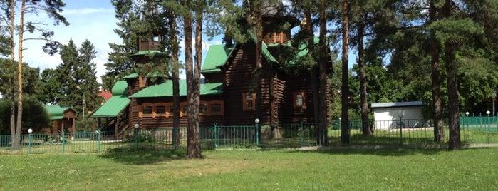 Церковь Серафима Саровского is one of Lieux qui ont plu à Ivan.