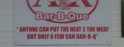 A&R Barbeque is one of 500 Things to Eat & Where - South.