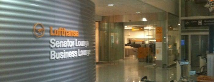 Lufthansa Senator Lounge I (Schengen) is one of Salas VIP-Lounges.
