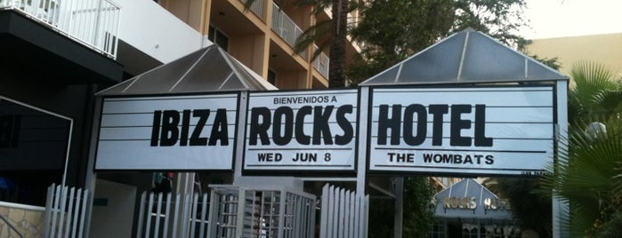 Ibiza Rocks Hotel is one of Ibiza Eat Sleep Drink Chill Party.