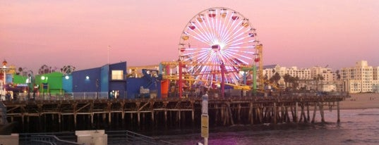 Santa Monica Pier is one of LA List.