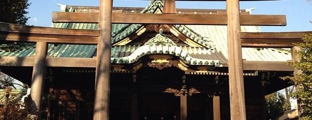 牛嶋神社 is one of 神輿で訪れた場所-1.