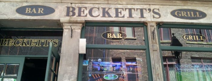 Beckett's Bar & Grill is one of Gespeicherte Orte von Leigh.