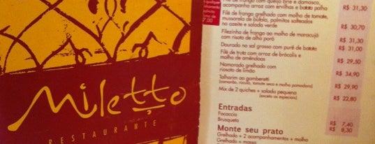 Miletto is one of Restaurantes.