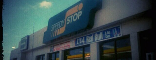 Speedy Stop is one of A : понравившиеся места.