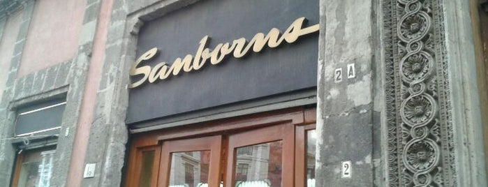 Sanborns is one of Mexico City.