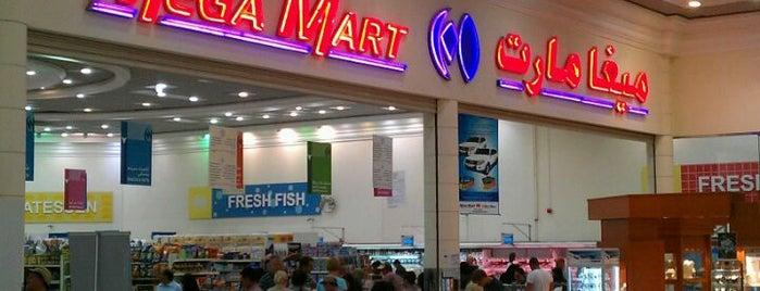 Megamart is one of Orte, die Tareq gefallen.