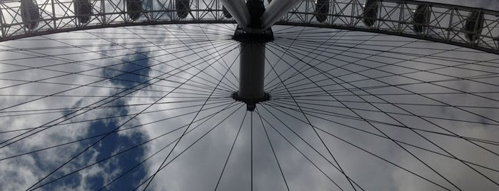 The London Eye is one of London Essentials.
