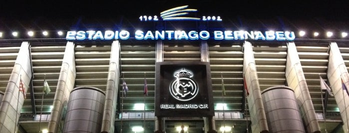 Estadio Santiago Bernabéu is one of Madrid Gourmand.