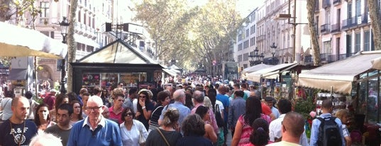 La Rambla is one of 2013 - Espanha.