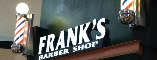 Frank's Barber Shop is one of Andy : понравившиеся места.