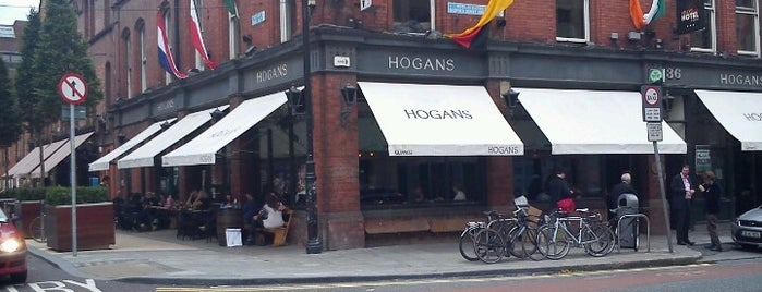 Hogan's Bar is one of Dublin.