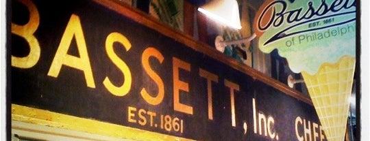 Bassett's Ice Cream is one of Food.