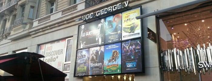 UGC George V is one of Must-visit Movie Theaters in Paris.
