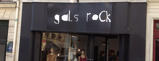 Gals Rock is one of Record Shops.