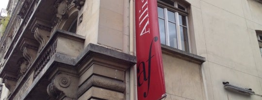Alliance Française is one of Paris.