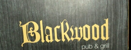 Blackwood Pub & Grill is one of Locais salvos de 😎😎😎.
