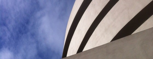 Solomon R Guggenheim Museum is one of Architecture - Great architectural experiences NYC.