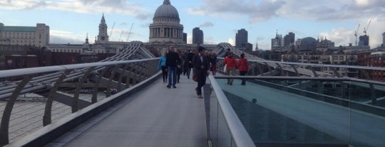 Millennium Bridge is one of London Essentials.
