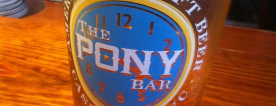 The Pony Bar is one of NYC - Bars: Homes Away From Home.