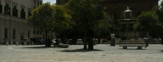 Piazza Mastai is one of That dolce far niente thing -R.