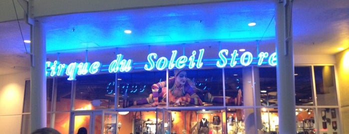 Cirque Du Soleil Store is one of Disney Springs.