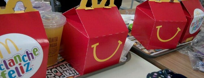 McDonald's is one of 20 favorite restaurants.