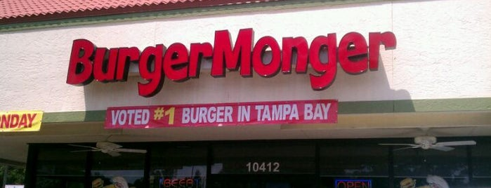 Burger Monger is one of Lugares favoritos de Michael.