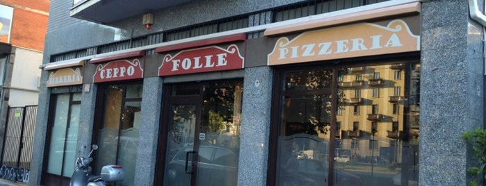 Pizzeria Al Ceppo Folle is one of Milano food.
