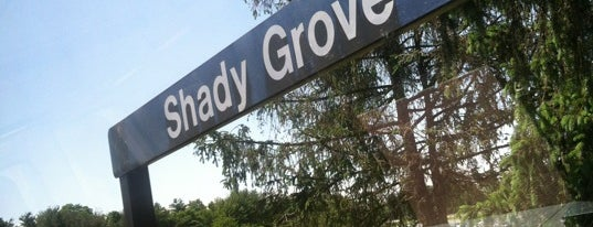 Shady Grove Metro Station is one of Been there, done that.