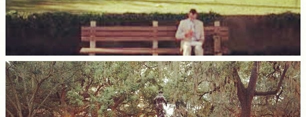 Forrest Gump's Bench (former location) is one of Georgia To-do list.