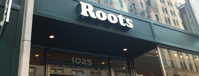 Roots is one of Canadá.