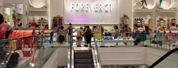 Forever 21 is one of NYC.