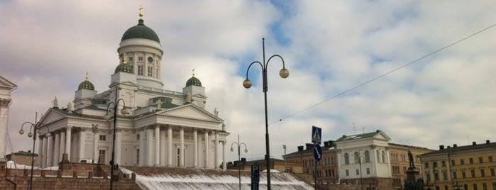 Senaatintori is one of Helsinki, Finland #4sqCities.