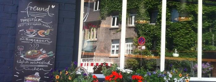 Freund is one of Düsseldorf Best: Coffee & desserts.