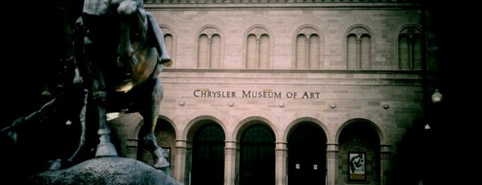 Chrysler Museum of Art is one of North America.