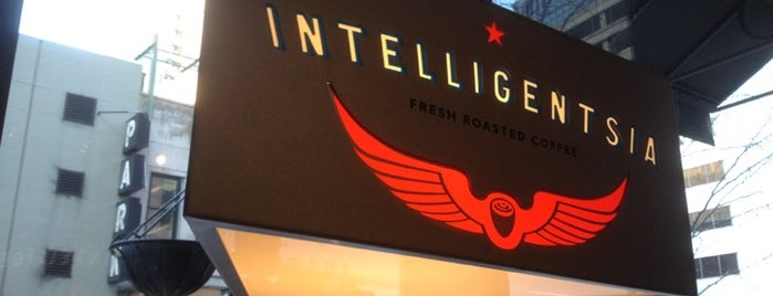 Intelligentsia Coffee is one of Favorite Cafés.
