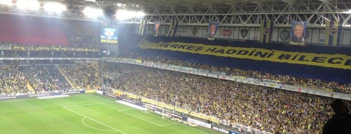 Ülker Stadyumu Fenerbahçe Şükrü Saracoğlu Spor Kompleksi is one of Hakan.
