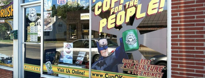 Cup O Kryptonite is one of Central Iowa Coffee Guide.