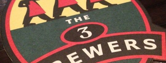 Les 3 Brasseurs is one of Toronto's Best Specialty Beer Bars.