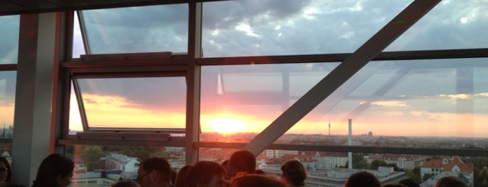 SkyLounge is one of Munich.