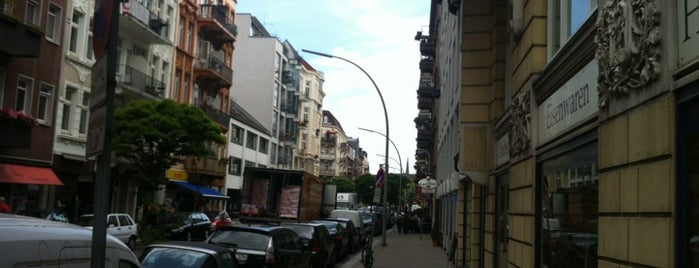 Portugiesen-Viertel is one of StorefrontSticker #4sqCities: Hamburg.