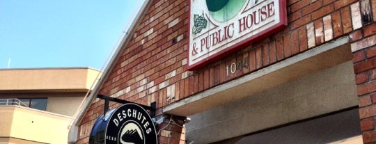 Deschutes Brewery Bend Public House is one of Bend, OR Breweries.