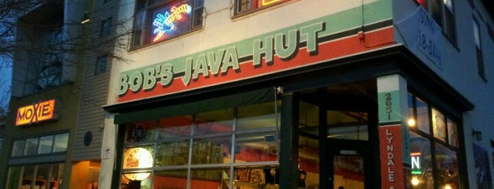 Bob's Java Hut is one of Minneapolis.