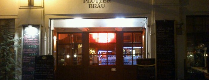 Plutzer Bräu is one of Vienna.