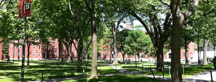 Harvard Yard is one of Beantown.