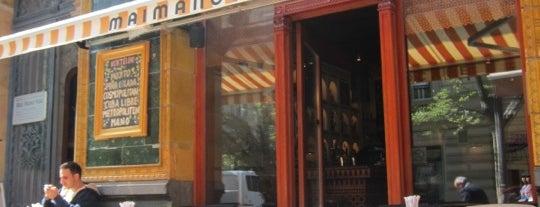 Mai Manó Kávézó is one of Cafés @ Budapest.