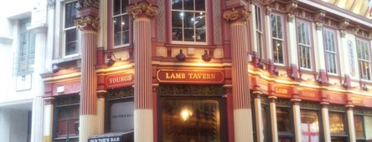 The Lamb Tavern is one of Time Out London.