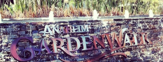 Anaheim GardenWalk is one of California Favorites.